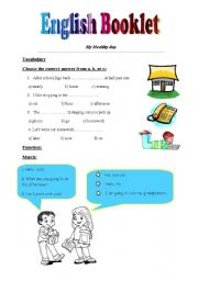 English Worksheets: English Booklet
