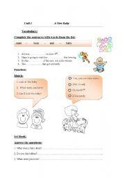 English Worksheets: English Booklet