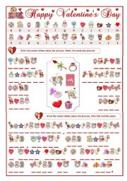 Valentine s day cryptogram a fun worksheet with 2 tasks task 1 write
