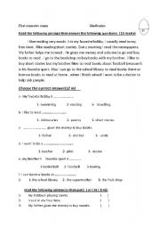 Printables Unseen Passage For 2 Class unseen passage for 2 class precommunity printables worksheets english passages with questions 9 reading worksheet grade
