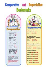 Comparative and superlative bookmarks