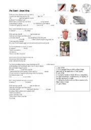English Worksheets: Song: I�m Yours - Jason Mraz