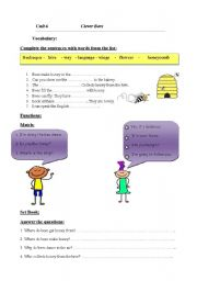 English Worksheets: Language Ex