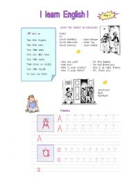 English Worksheets: English for beginner