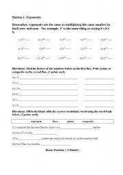 Printables Prime And Composite Numbers Worksheets english worksheets exponents prime and composite numbers worksheet numbers