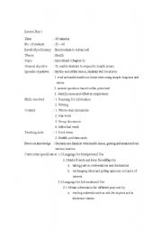 English Worksheets: how to live smart
