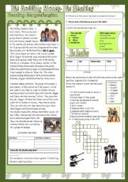 English Worksheets: The Rolling Stones and the Beatles