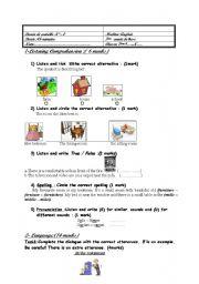 mid term test2 (7th form)
