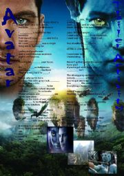 English Worksheets: Avatar (the activity based on the trailer)