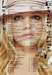English Worksheet: Britney Spears Lucky ( listening activity)
