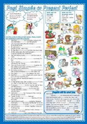 English Worksheet: Past Simple or Present Perfect(+Key)