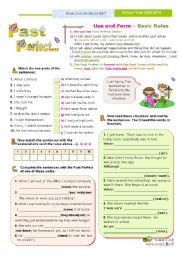 Verb Tenses - Basic Rules: Use and Form + Practice (2) - The Past Perfect Tense