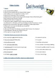 English Worksheets: Video Guide: Cool Runnings