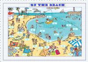 English Worksheet: On the beach