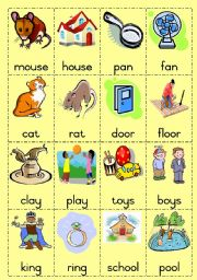 Worksheets Rhyming Words english teaching worksheets rhyming words game page 1