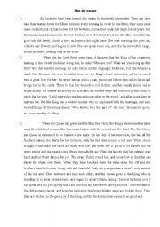 Narrative essay mla