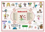 English Worksheets: Question words, a labelling worksheet (editable)