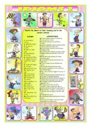 English Worksheets: IDIOMS 2