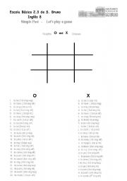 Game : Noughts and Crosses