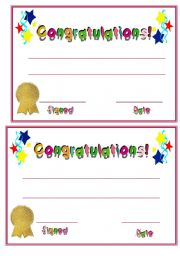 certificate esl worksheet by sara5