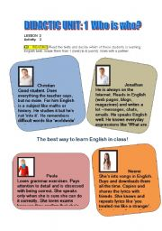 English Worksheets: Who is the best learner?