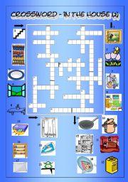 Crossword - In the House 2 (Medium)