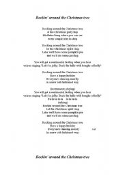 rockin around the christmas tree lyrics pdf