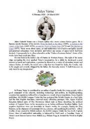 English Worksheet: Jules Verne