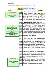 English Worksheet: Chinese New Year