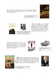English Worksheet: M  FOR  MYSTERY  a guided tour ( part 2 )