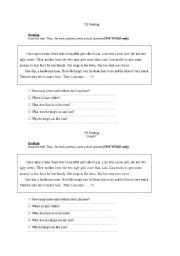 english teaching worksheets other reading worksheets. Black Bedroom Furniture Sets. Home Design Ideas
