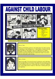 English Worksheets: Child labour (reading adolescents/adults)