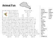 English Worksheets: animal fun