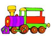 English Worksheet: The Week Train Poster (part 1)