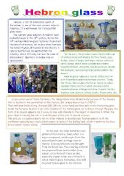 English Worksheets: What do you know about Palestine? part 1- Hebron glass.