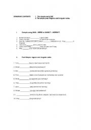 English Worksheet: Simple past of To Be and regular and Irregular verbs + expressing agreement or disagreement