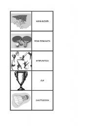English Worksheets: sports memo part 1