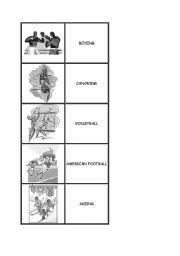 English Worksheets: sports memo part 2