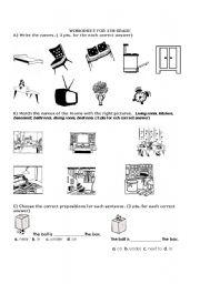 prepositions & home