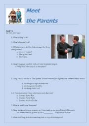 Meet the Parents (movie activity)