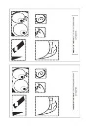 English Worksheets: Parts of the face 2