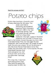 potato chipos reading