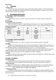 English Worksheet: the map of the world