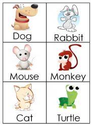 English Worksheets: Animals (1)