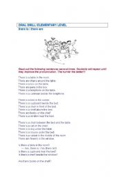 English Worksheets: repetition drill