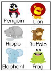 English Worksheets: Animals (2)