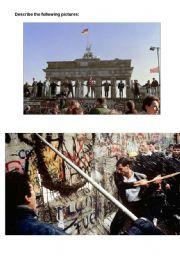 English Worksheets: Berlin Wall