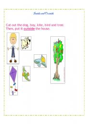 English Worksheets: basic concept _inside-outside_stickers