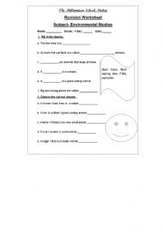 english worksheets evs animals for 2nd grade. Black Bedroom Furniture Sets. Home Design Ideas