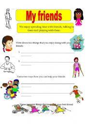 math worksheet : english teaching worksheets friendship : Friendship Worksheets For Kindergarten